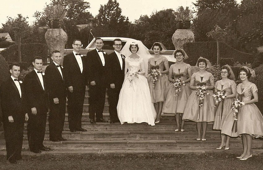 Wedding Party (60 years ago!)